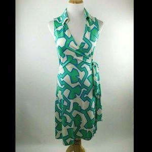 Diane von Furstenberg St. Jude Jersey Silk Dress